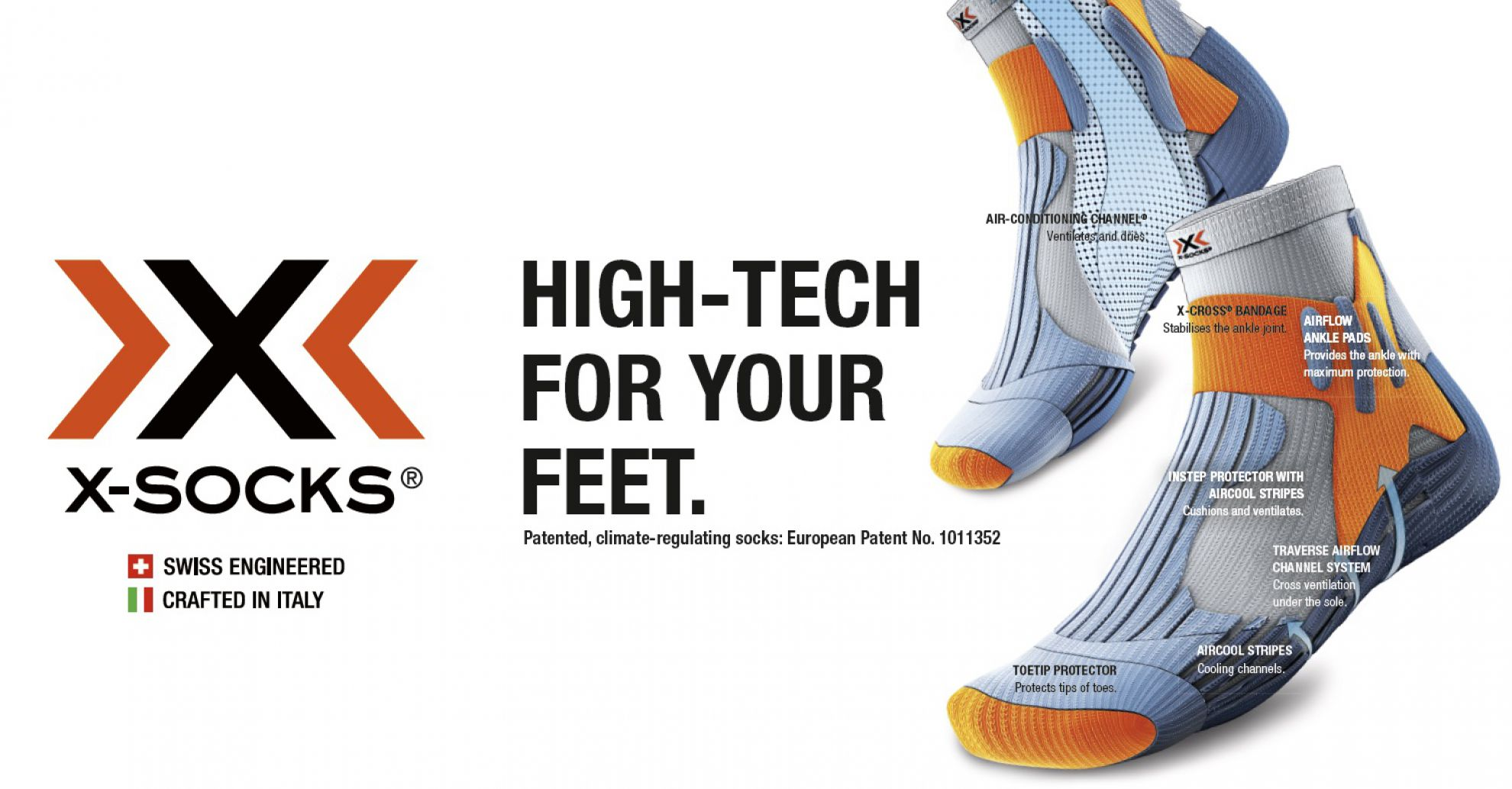 X-Socks, high tech for your feet